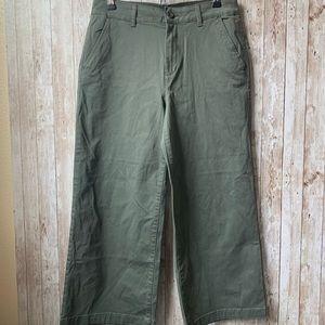 a.n.a. Wide legged cropped pants